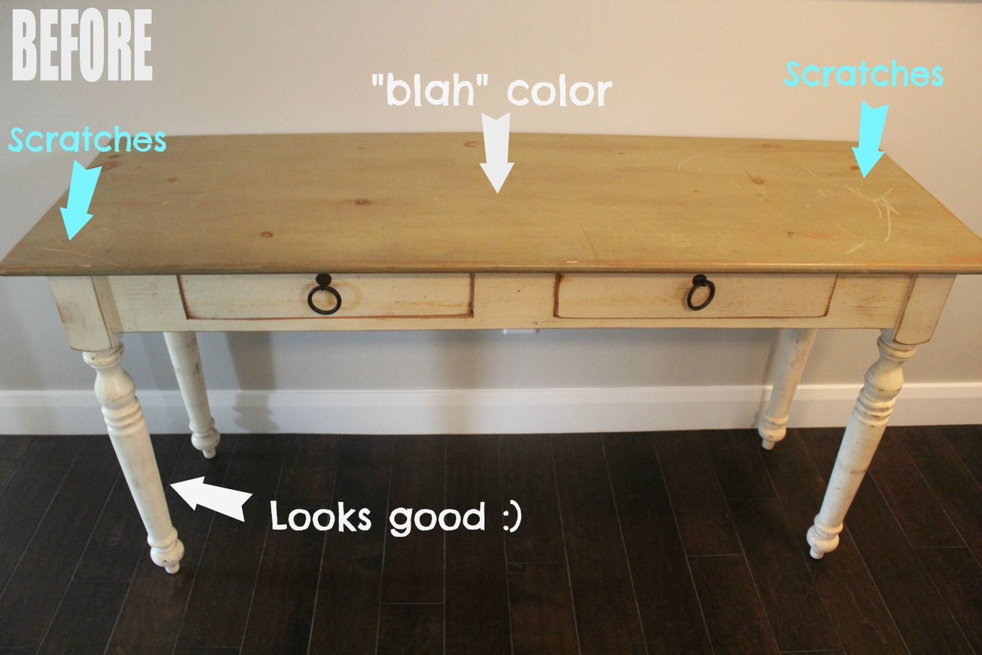 table makeover 1