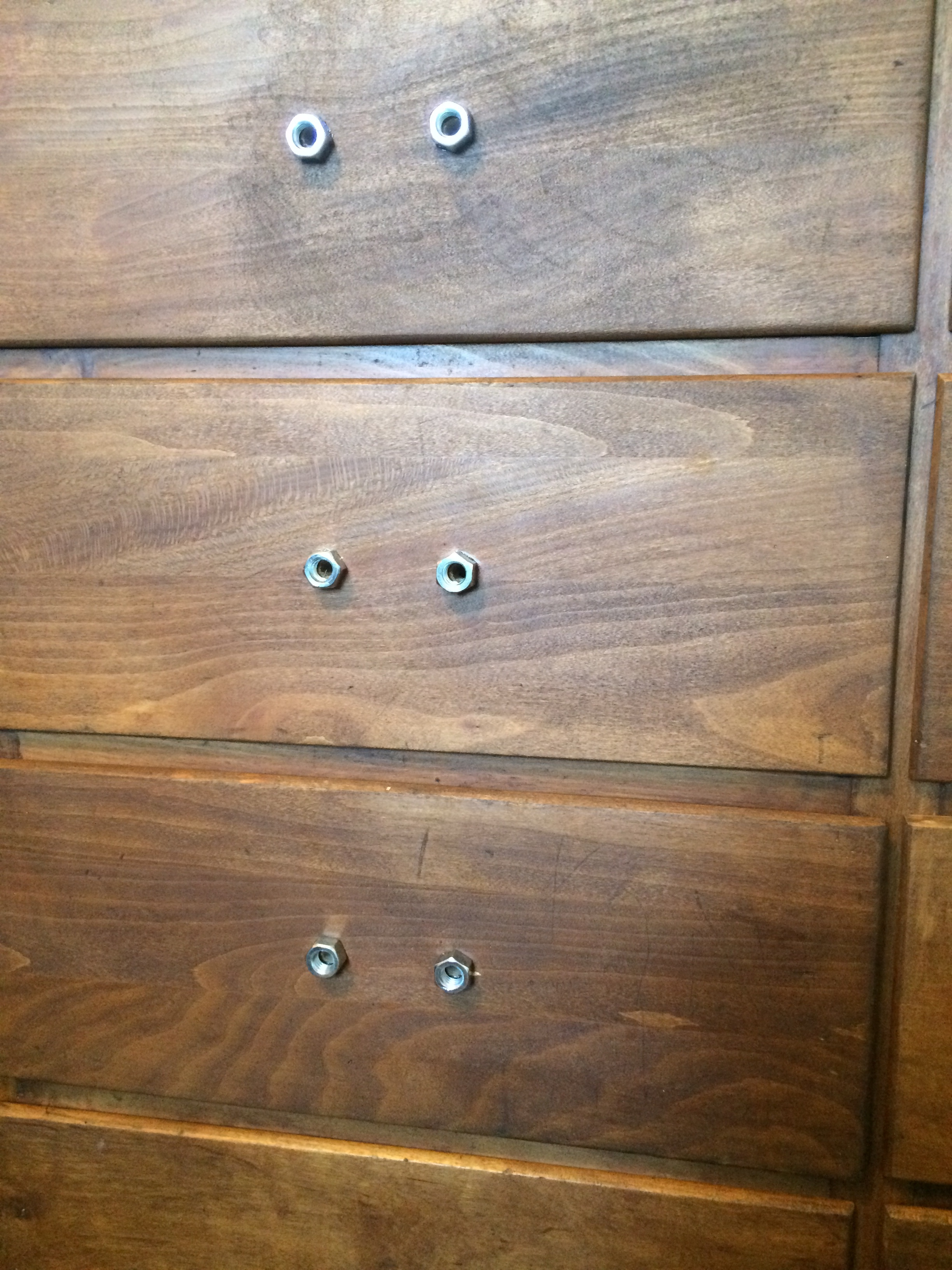 Hex Nut Drawer Pulls