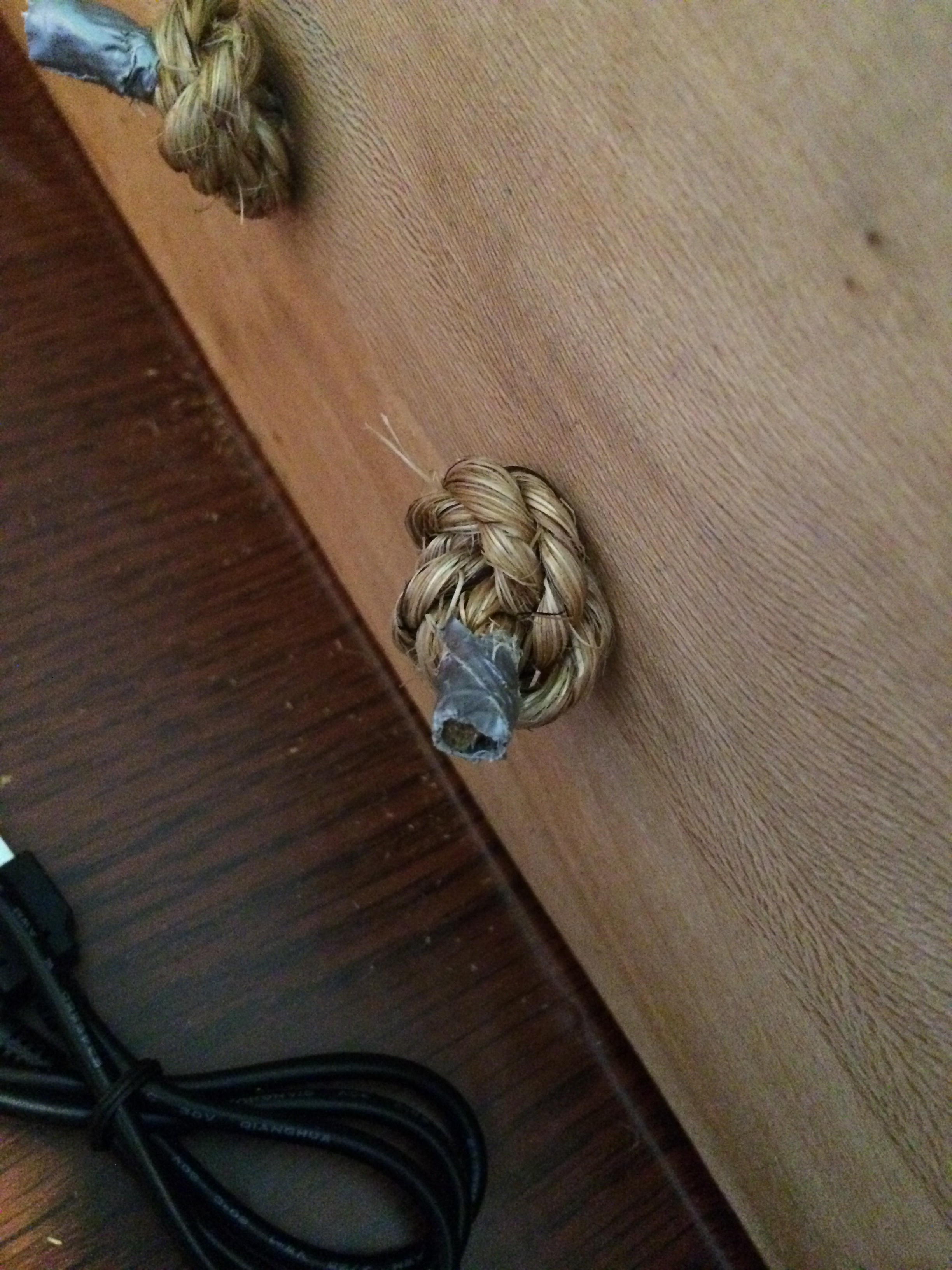 Knotted Rope Drawer Pulls