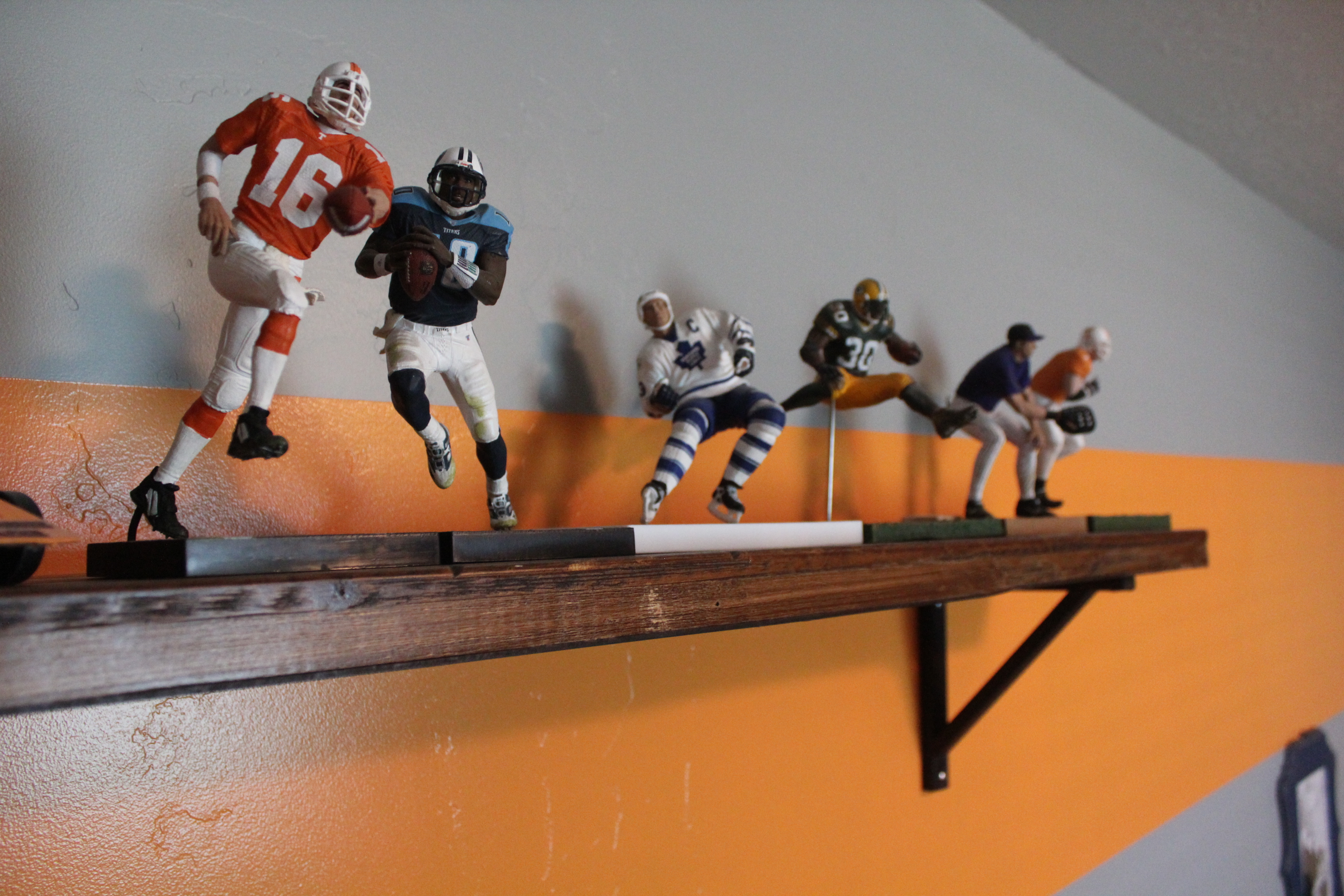 Rustic Sports Shelf
