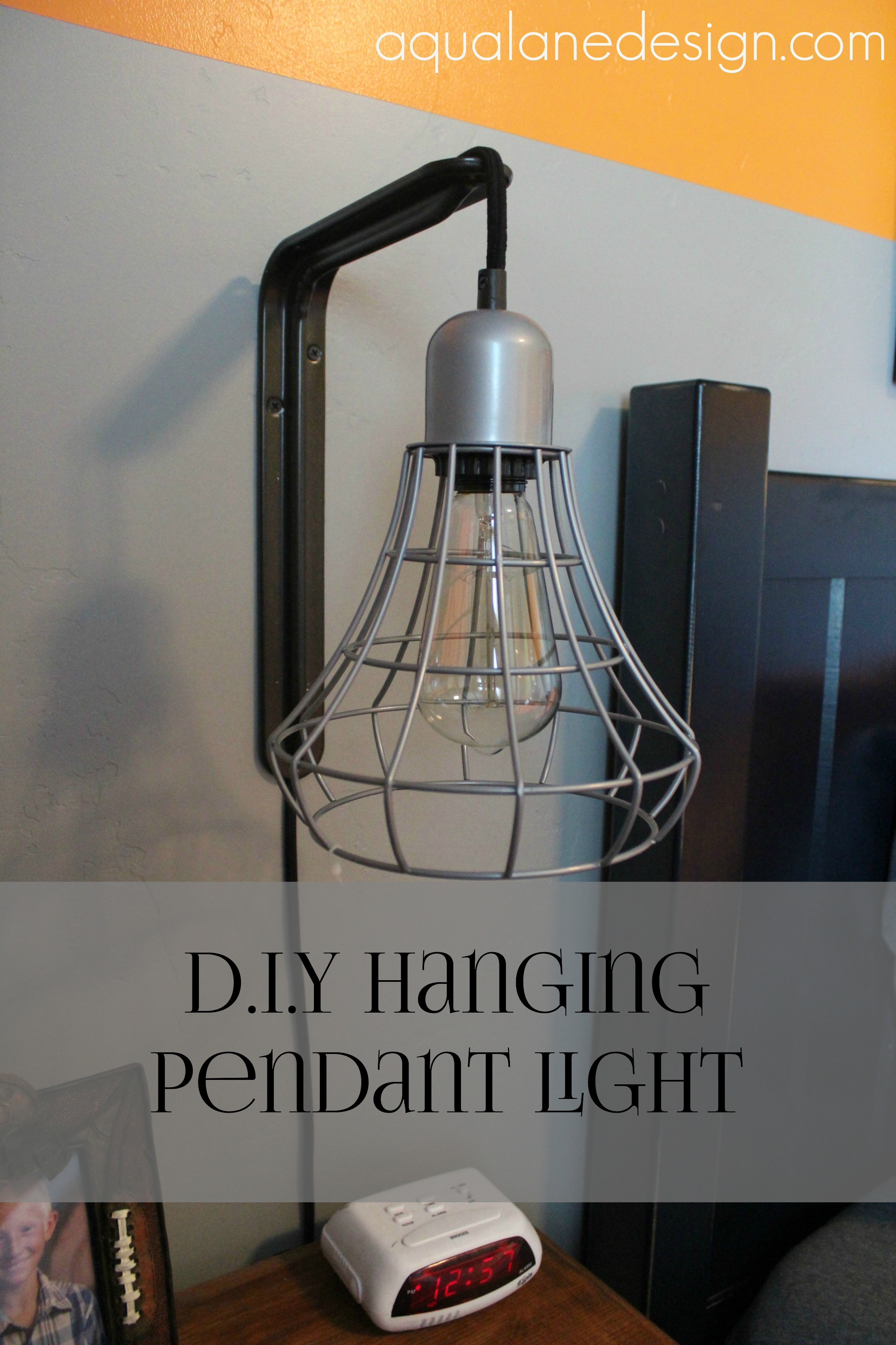 hanging pendant light pin