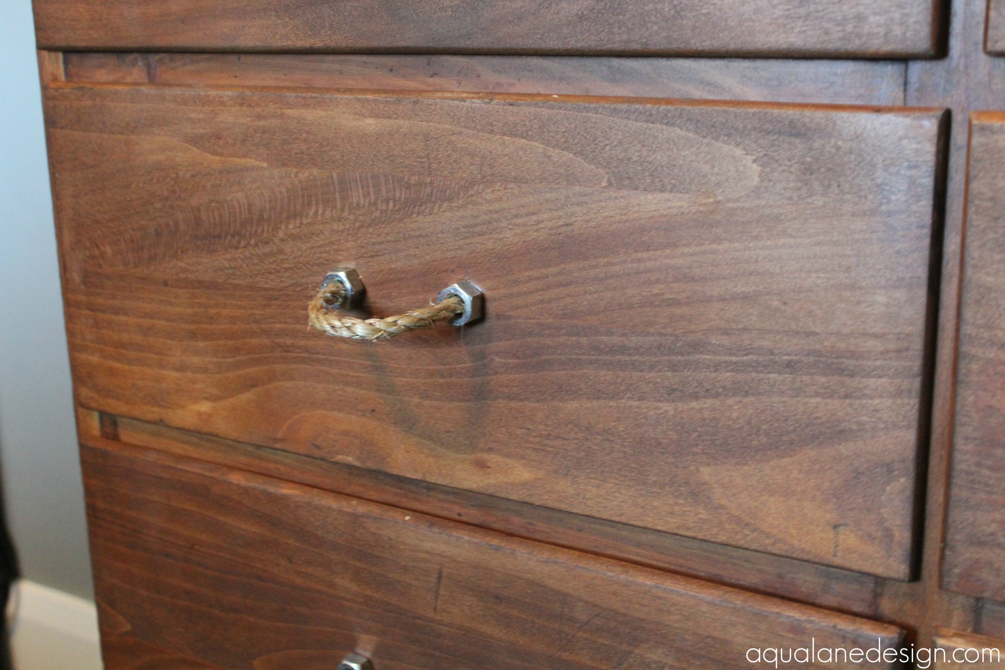rope hex nut drawer pulls