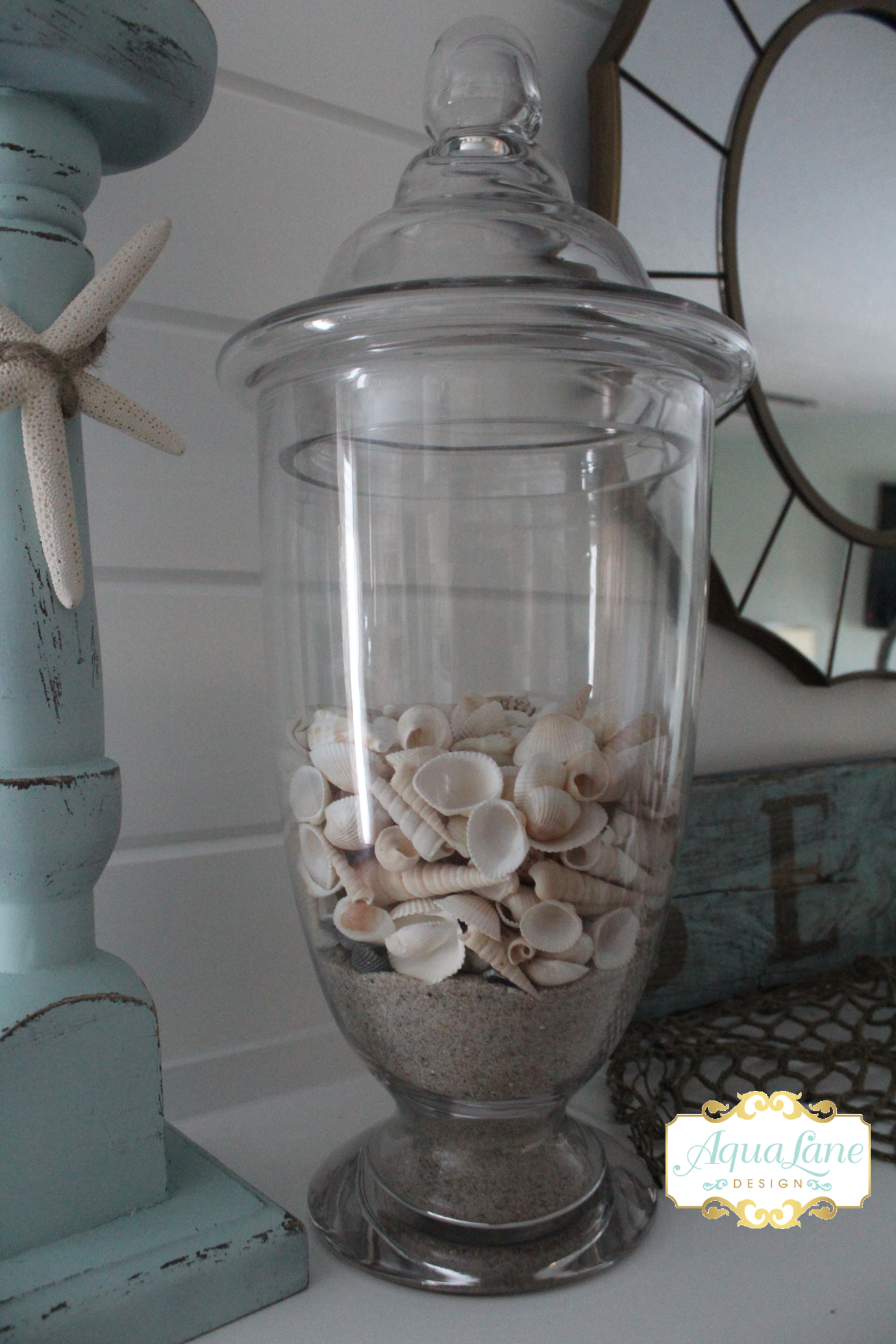 seashell apothecary jar  copy