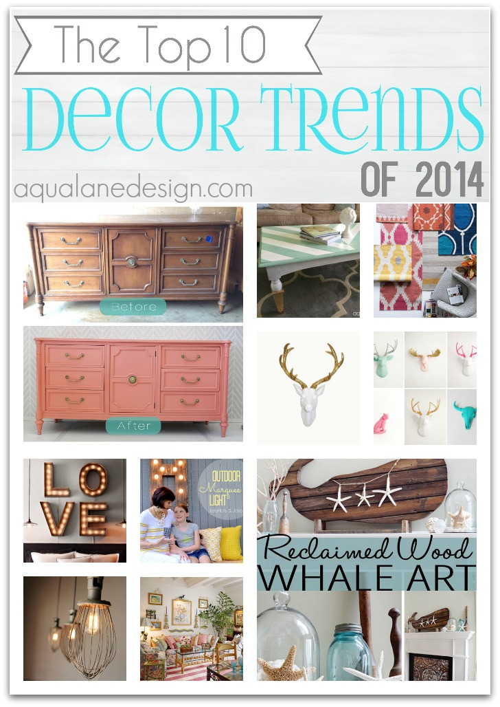 Top 10 Decor Trends 2014