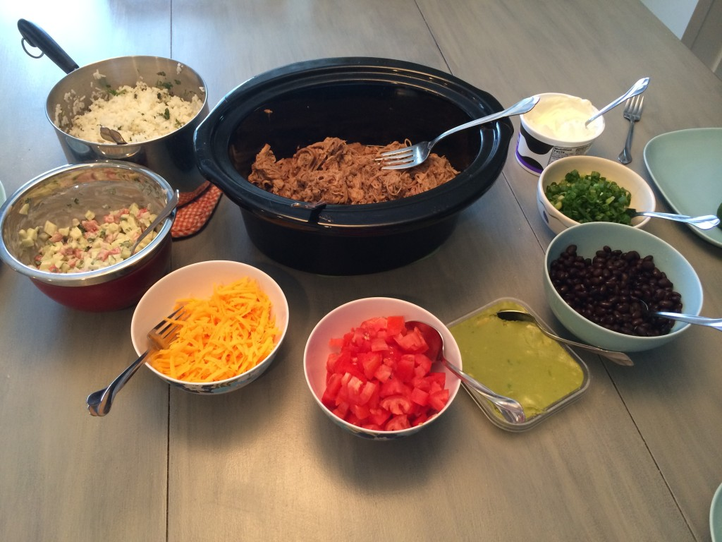 burrito bowl ingredients